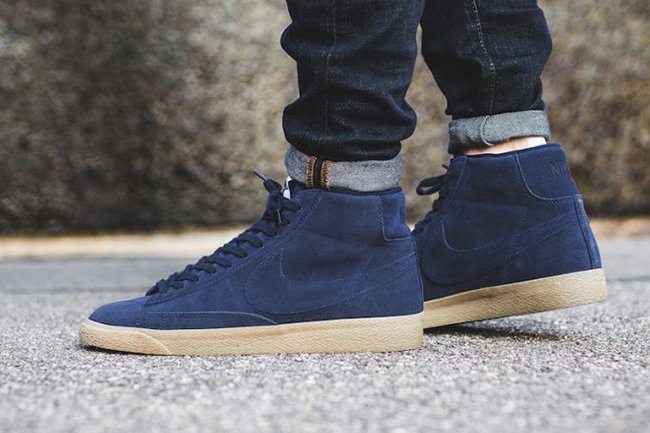 Nike Blazer Mid Premium Binary Blue Gum 429988-403  0c3c53805