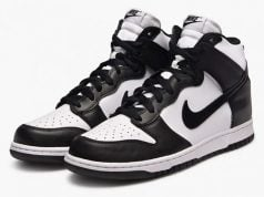 Nike Dunk High Black White