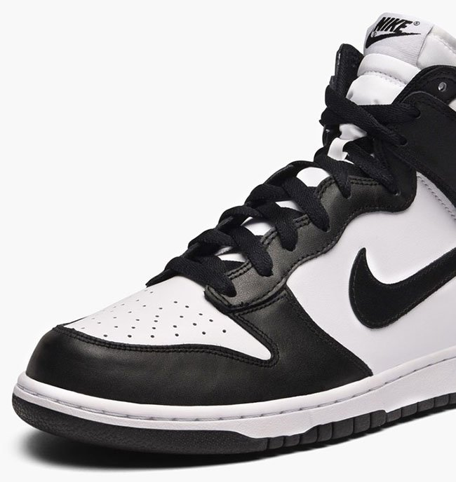 Nike Dunk High Black White