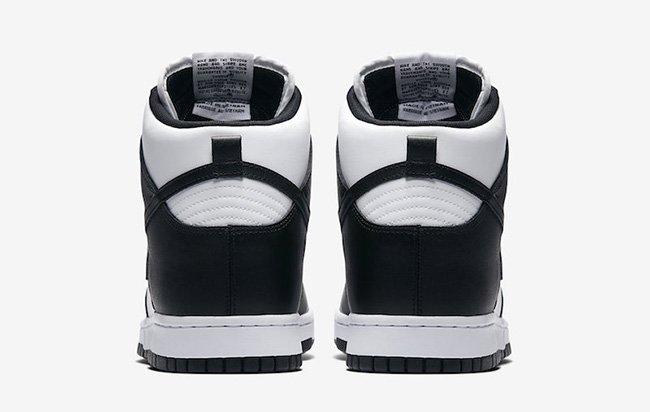 Nike Dunk High Black White 846813-002 Release