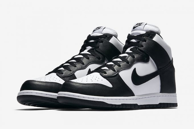size 40 a7468 c70cf Nike Dunk High OG Retro Black White 846813-002 | SneakerFiles