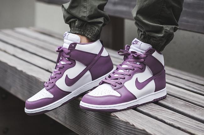 Nike Dunk High Violet Dust