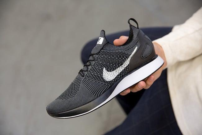0bd26dc03034 Nike Flyknit Mariah Racer Oreo Black White Release Date