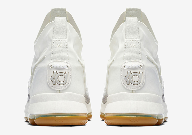 Nike KD 9 Elite Ivory Pale Grey Gum Release Date