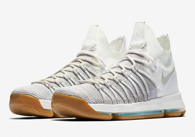 52fc005cda657 Nike KD 9 Elite Ivory Pale Grey Gum Release Date