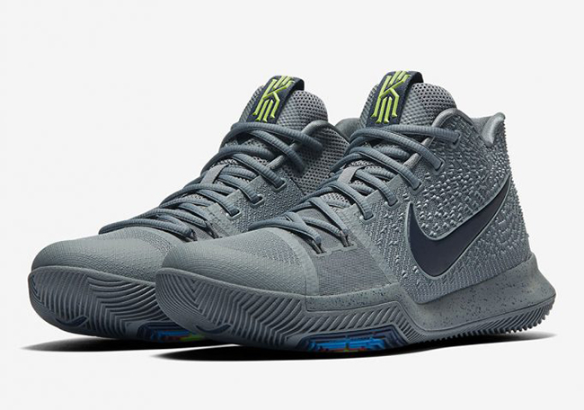 e799ea07459f Nike Kyrie 3 Cool Grey Anthracite Polarized Blue