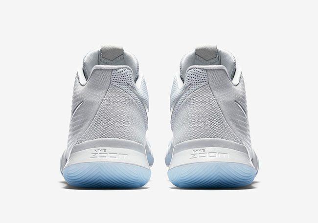 Nike Kyrie 3 Iridescent Swoosh Pure Platinum Release Date