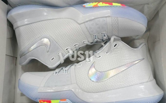 Nike Kyrie 3 TS White Multicolor Volt Release Date