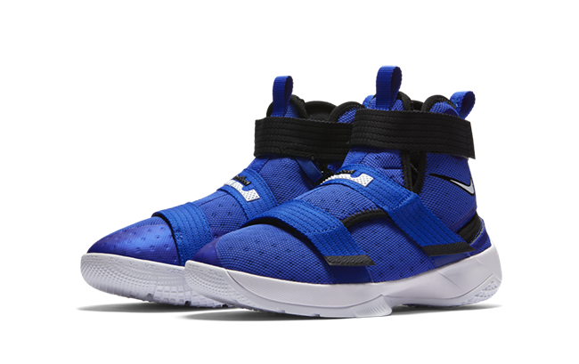 Nike LeBron Soldier 10 FlyEase Blue Kids