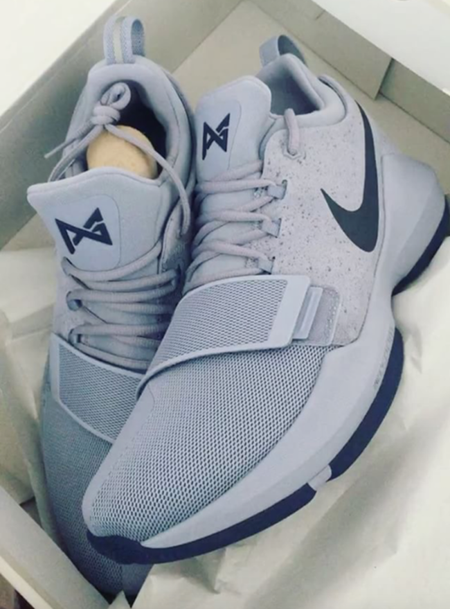 Nike PG 1 Glacier Grey Armory Blue Release Date