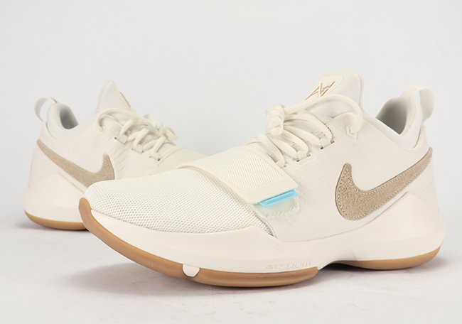 b18ad1a937b Nike PG 1 Ivory Gum Brown Release Date SneakerFiles ...