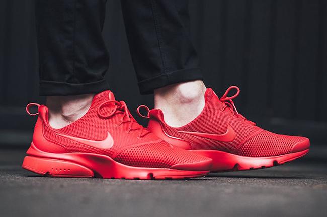 Nike Presto Fly Triple Red 908019-601  b91c9853a6