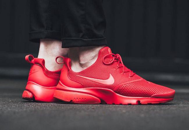 best website f3b2c f72d6 Nike Presto Fly Triple Red 908019-601 | SneakerFiles