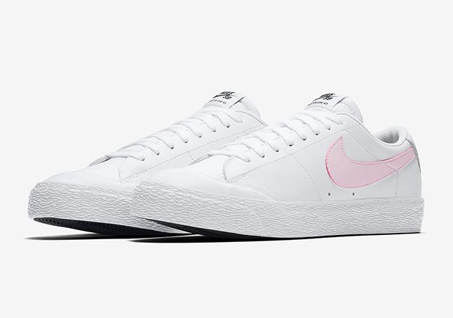 Nike SB Blazer Low XT White Prism Pink