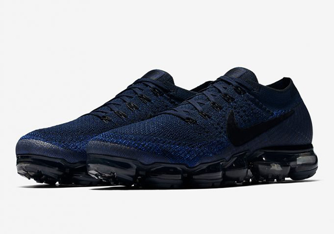 32488887bc8 Nike Air VaporMax College Navy Game Royal 849558-400 Release Date ...