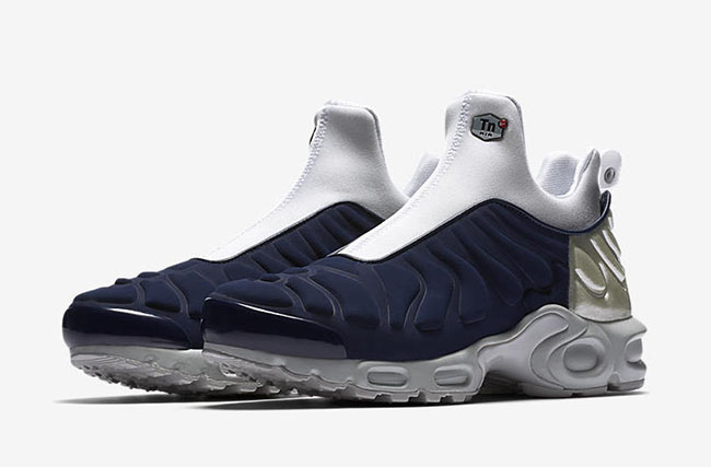 Nike Womens Air Max Plus Slip Midnight Navy