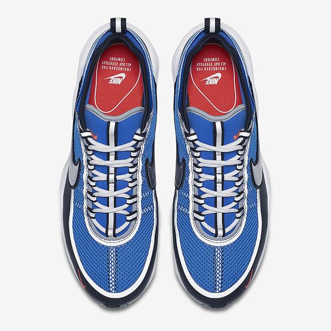new concept 96e5a bea90 Nike Zoom Spiridon Ultra Regal Blue