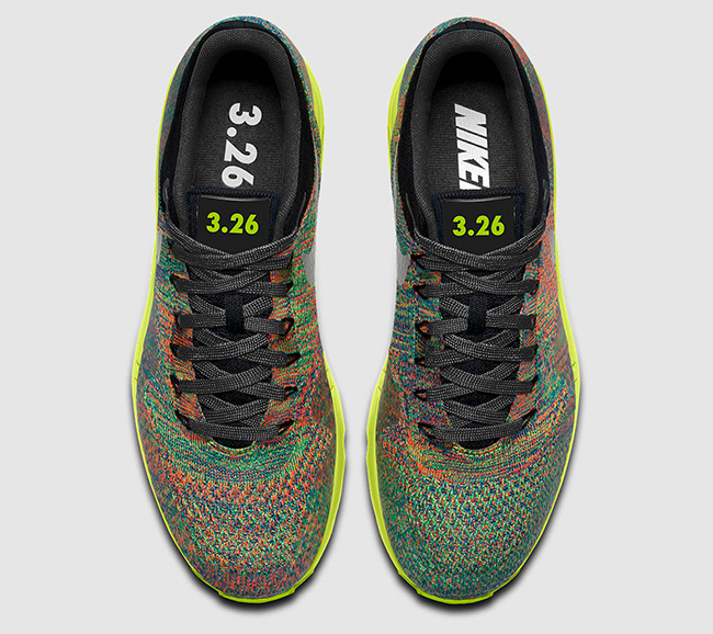 NikeID Air Max 1 Flyknit Multicolor