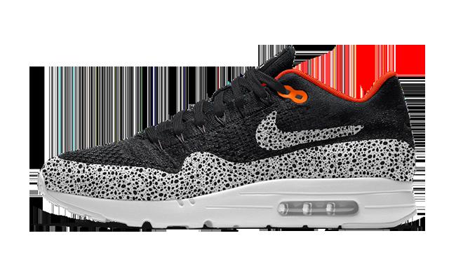 NikeID Air Max 1 Ultra Flyknit Safari Cheetah