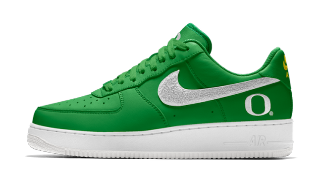 NikeID College Air Force 1 Dunk