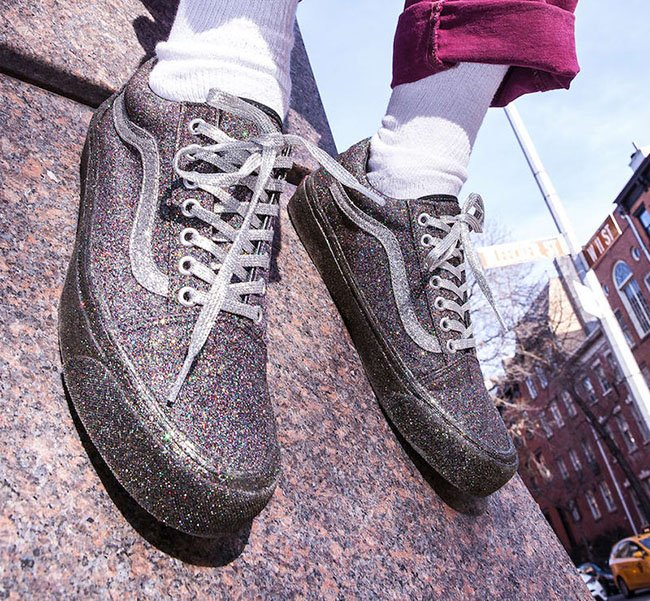 Opening Ceremony x Vans Old Skool Glitter Pack