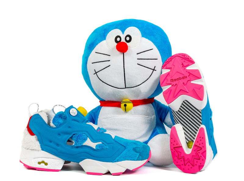 Packer atmos Reebok Insta Pump Fury DORAEMON