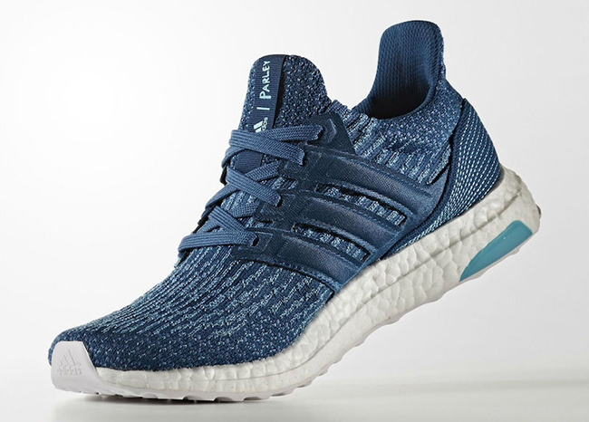 Parley adidas Ultra Boost Blue Release Date