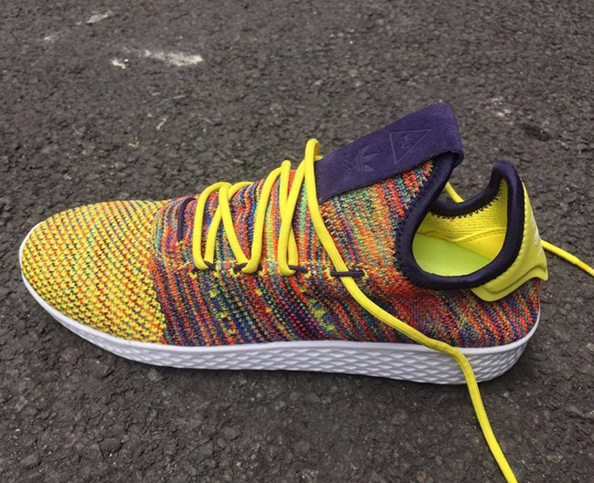 12bd1d193 Pharrell adidas Human Race Tennis Multicolor Mexican Blanket ...