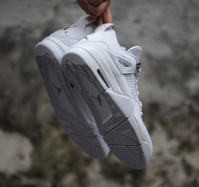 Pure Money Jordan 4 Retro 2017