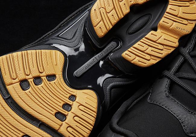 Raf Simons x adidas Ozweego Bunny Core Black