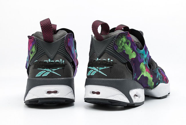 Reebok Insta Pump Fury Interrupt Paint Splatter