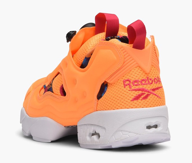 Reebok Insta Pump Fury Orange Sherbet