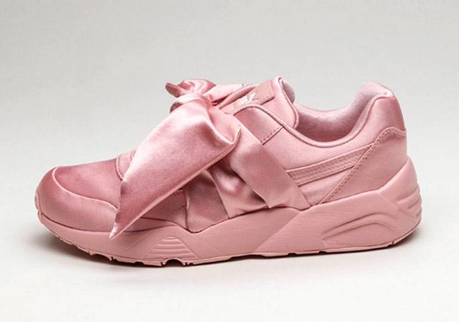 Rihanna Puma Fenty Pink Bow