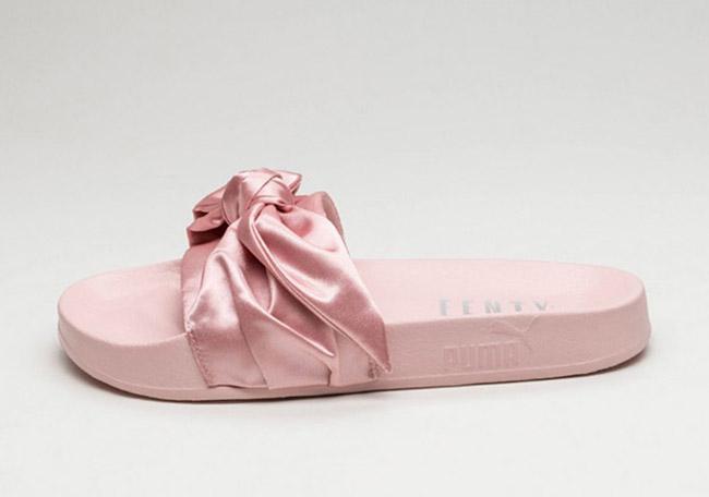 Rihanna Puma Pink Bow Slide