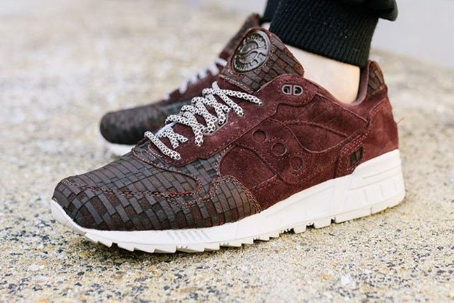 huge discount c1fbe b621a Saucony Shadow 5000 Bricks | SneakerFiles