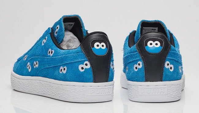 Sesame Street Puma Suede Cookie Monster