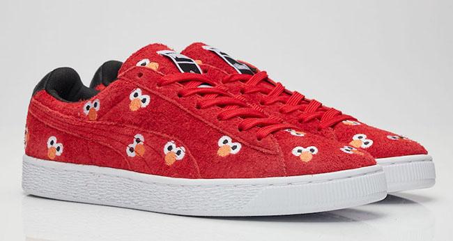 Sesame Street Puma Suede Elmo