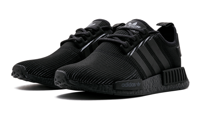 adidas nmd r1 triple black by3123 release date sneakerfiles. Black Bedroom Furniture Sets. Home Design Ideas