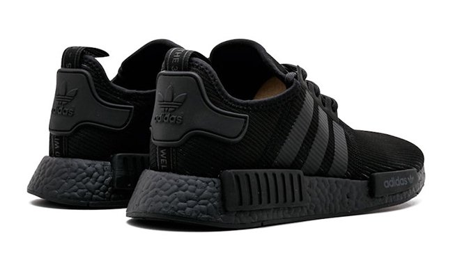 Triple Black adidas NMD R1 BY3123