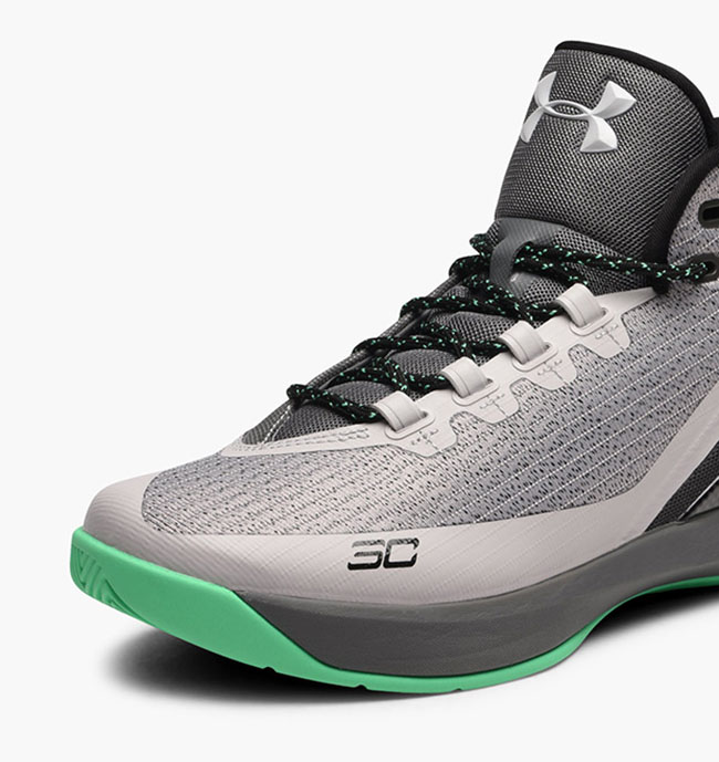 Under Armour Curry 3 Grey Matter