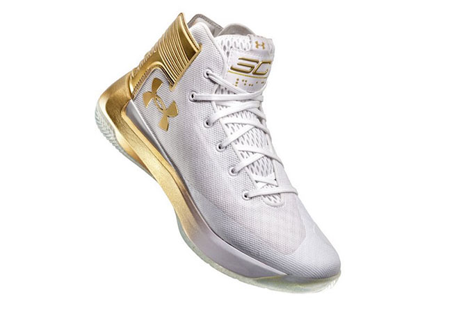 Under Armour Curry 3zer0 Gold