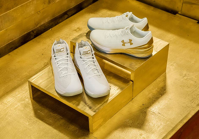 Under Armour Curry 3ZERO March Madness White Gold Pack