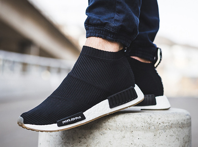 United Arrows Sons adidas NMD City Sock On Feet