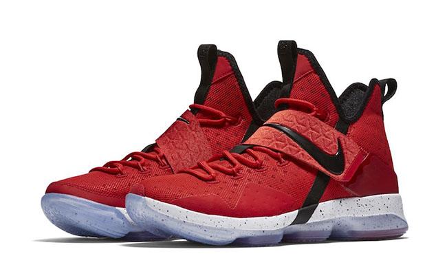 University Red Nike LeBron 14 Release
