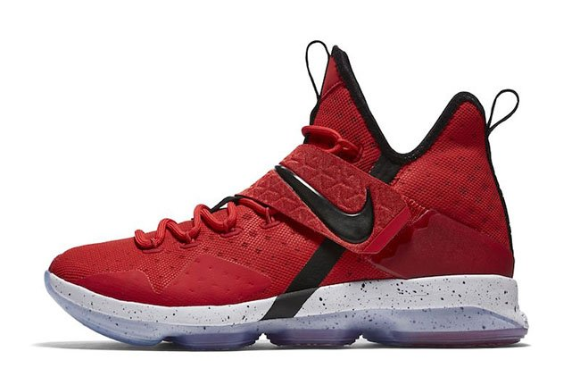 promo code 8d08e 17d76 Nike LeBron 14  University Red  Official Images
