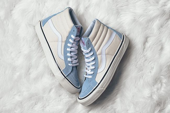 Vans SK8-Hi 38 DX Anaheim Factory Light Blue