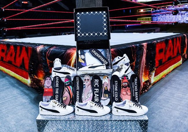 WWE Foot Locker Puma Clyde Pack  4bfd8f25b