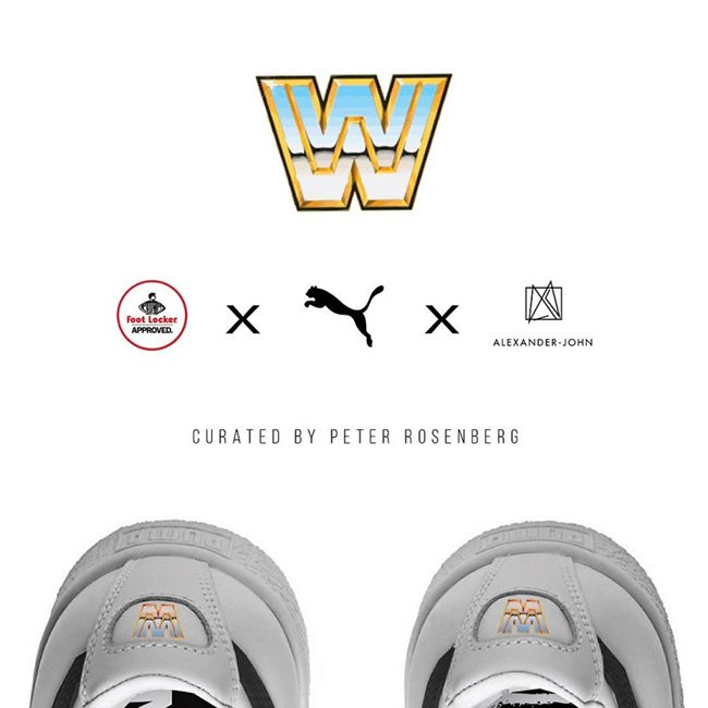 WWE Puma Foot Locker Sneaker Collaboration