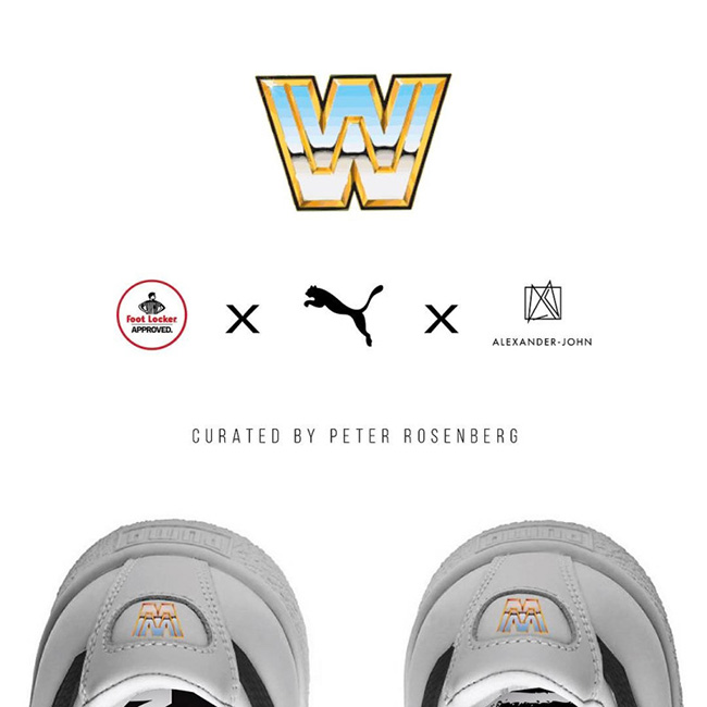 WWE Puma Foot Locker Sneaker Collaboration