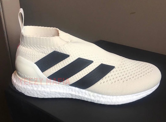 more photos d185b cce0a ... authentic adidas ace 16 purecontrol ultra boost champagne 91c56 1d307